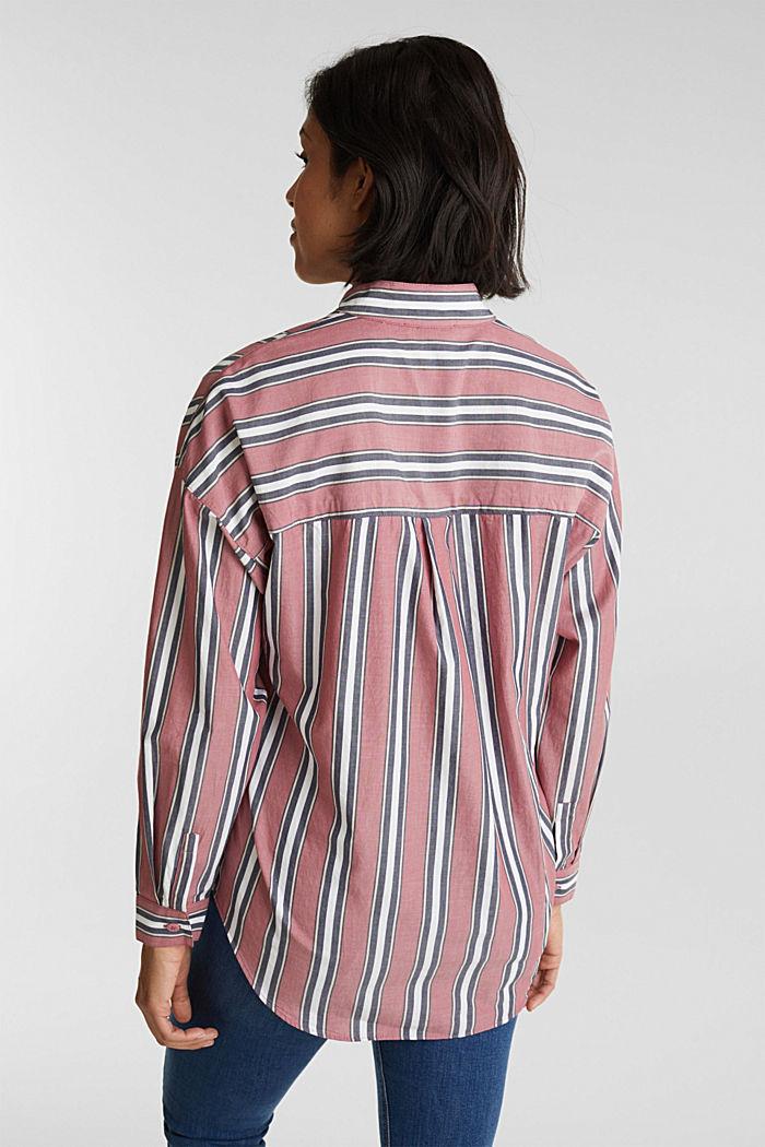 Schlupf-Bluse mit Stehkragen, 100% Baumwolle, BLUSH, detail image number 3