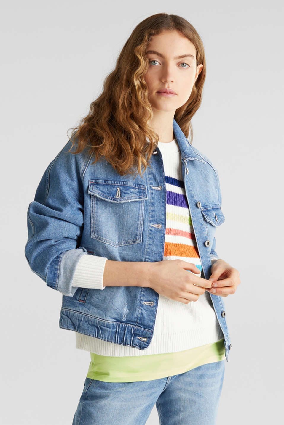 edc - Denim jacket with new details