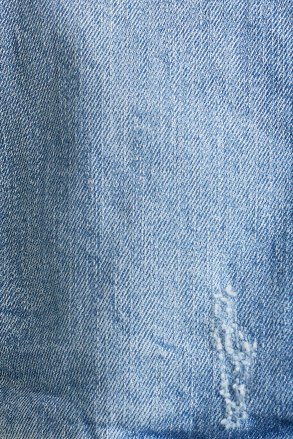 Denim jacket with new details, BLUE LIGHT WASH, detail image number 4