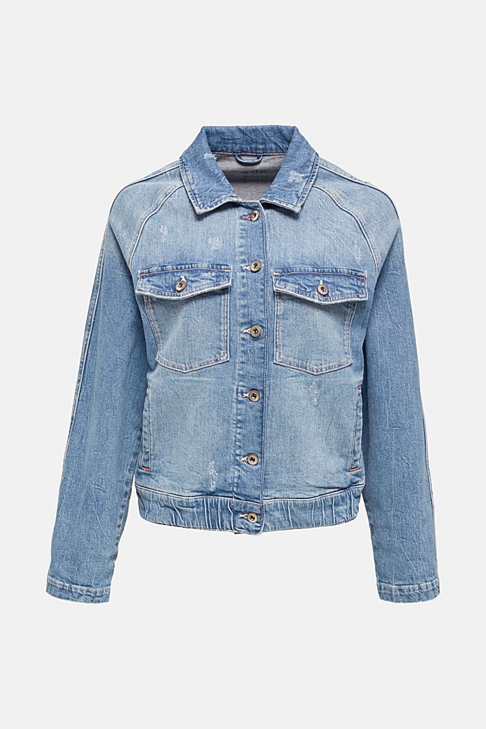Denim jacket with new details