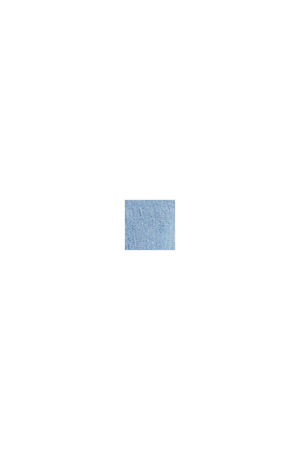 Jeansjacka med nya detaljer, BLUE LIGHT WASHED, swatch