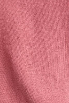 Jumper with sporty stripes, BLUSH 3, detail