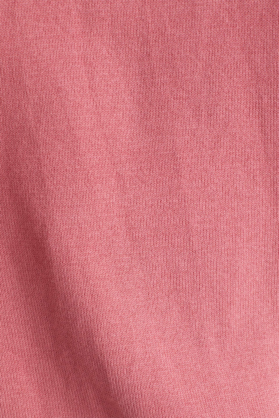 Jumper with sporty stripes, BLUSH 3, detail image number 4