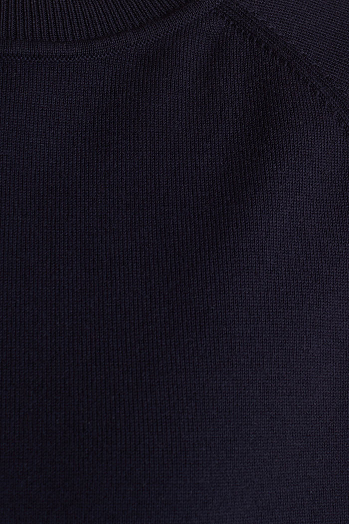 Jumper with racing stripes, NAVY 2, detail image number 2
