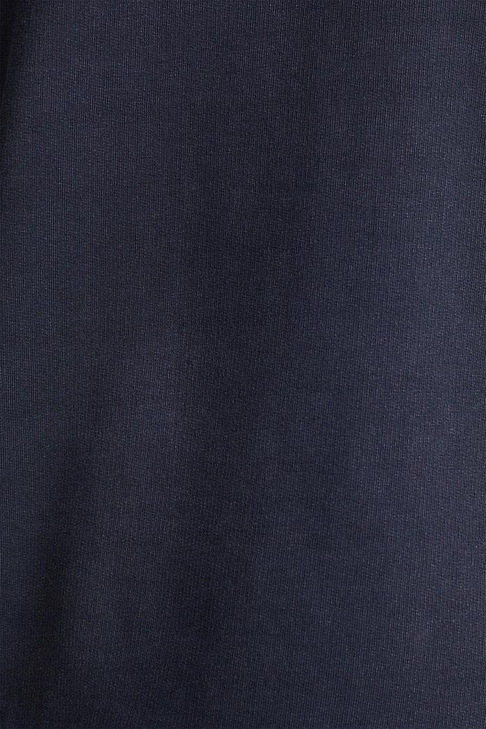 Hoodie im Washed-Look, 100% Baumwolle, NAVY, detail image number 4