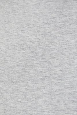 Compact sweatshirt with a stand-up collar, LIGHT GREY 5, detail
