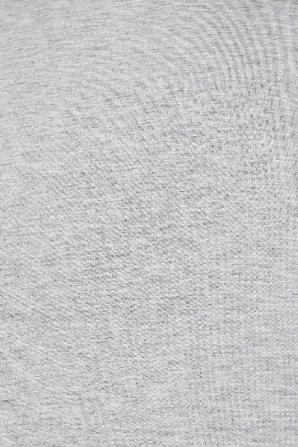 Compact sweatshirt with a stand-up collar, LIGHT GREY 5, detail image number 4