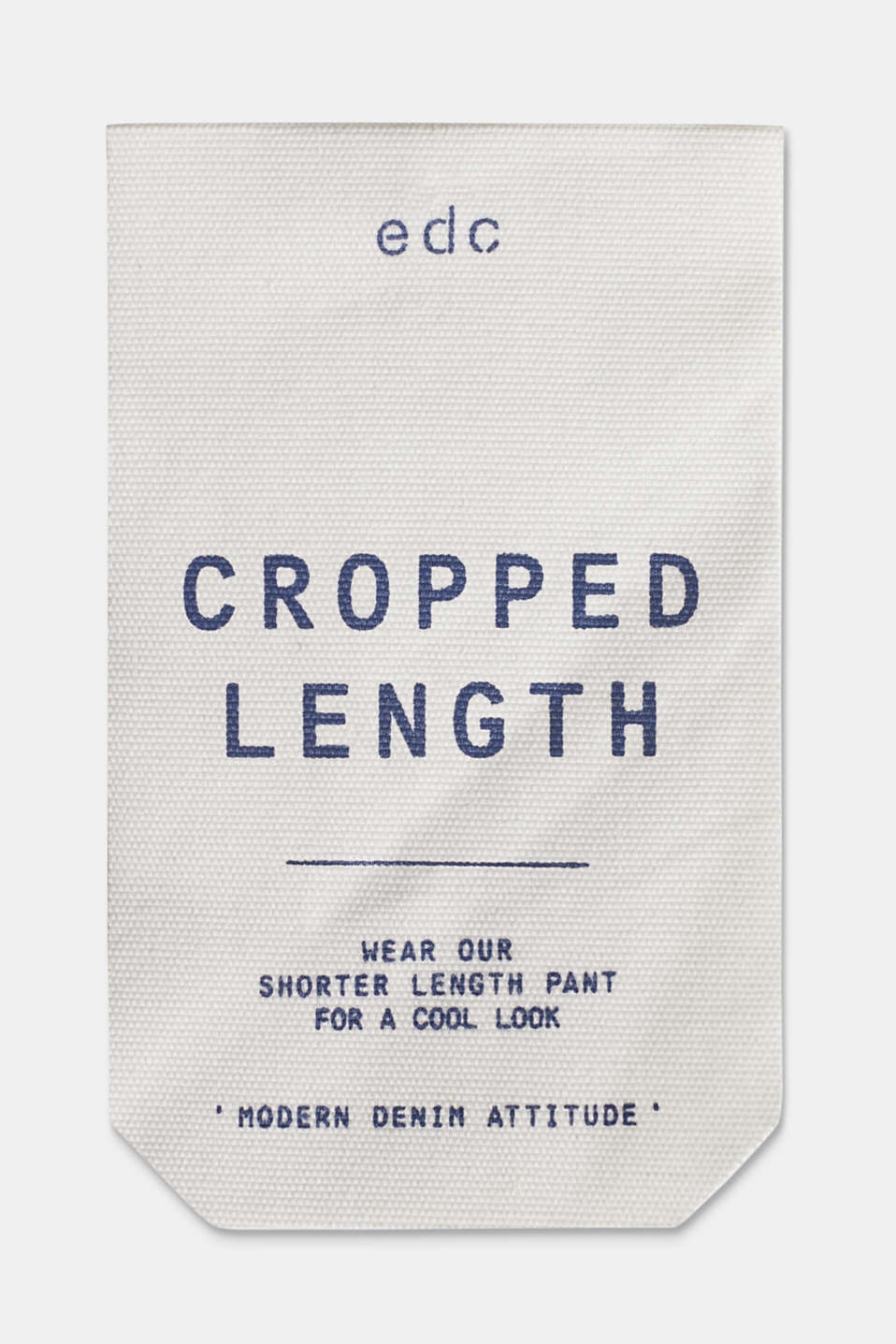 Cropped chinos with stretch and organic cotton, NAVY, detail image number 6