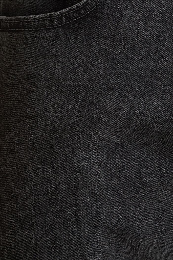 Superstretchjeans met washed-out effect, BLACK DARK WASH, detail image number 3