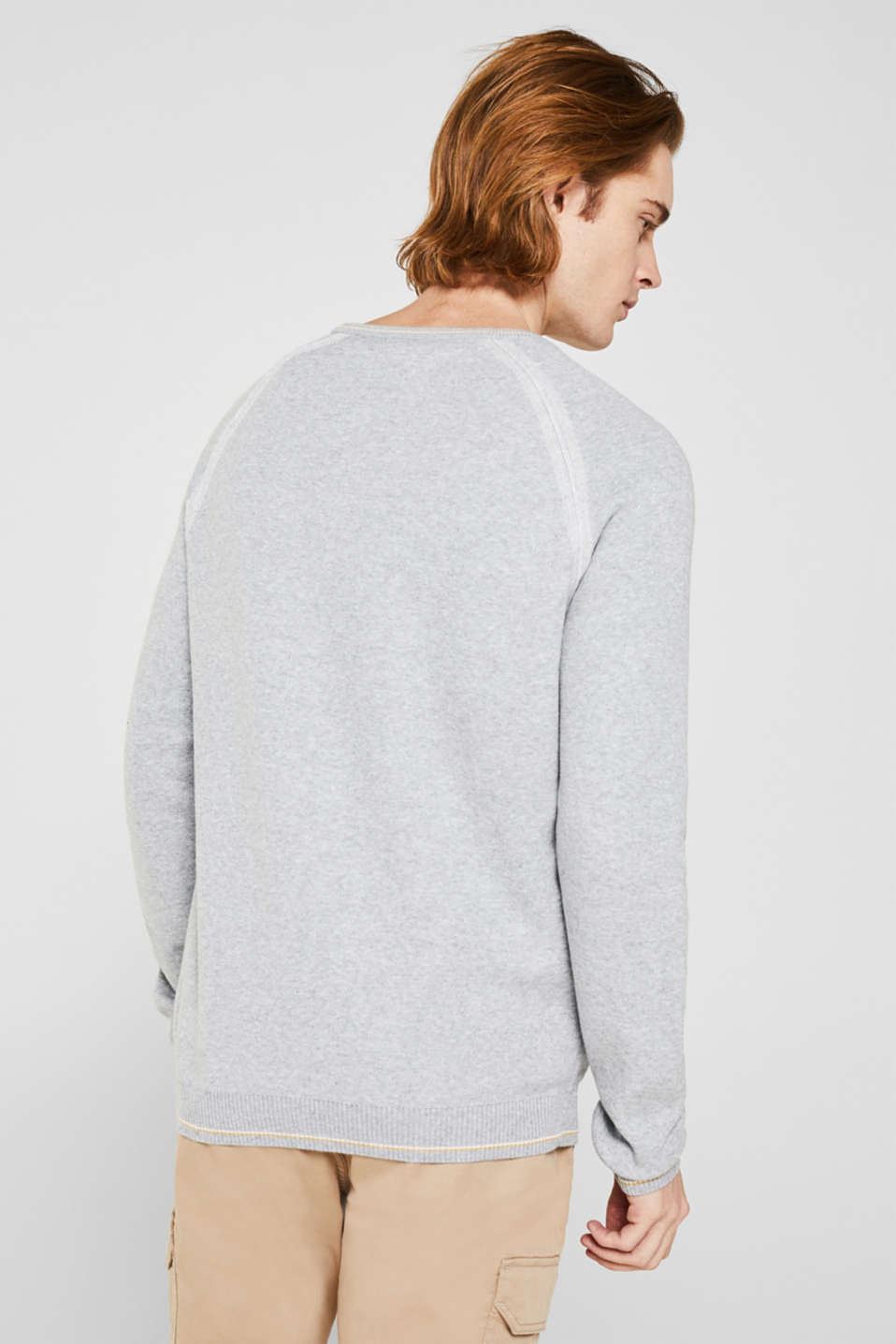 Sweaters, LIGHT GREY 5, detail image number 3