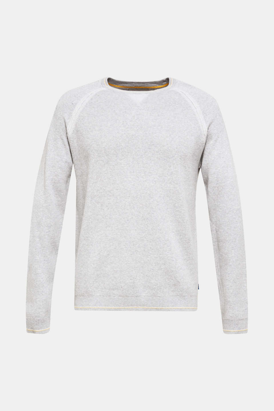 Sweaters, LIGHT GREY 5, detail image number 6