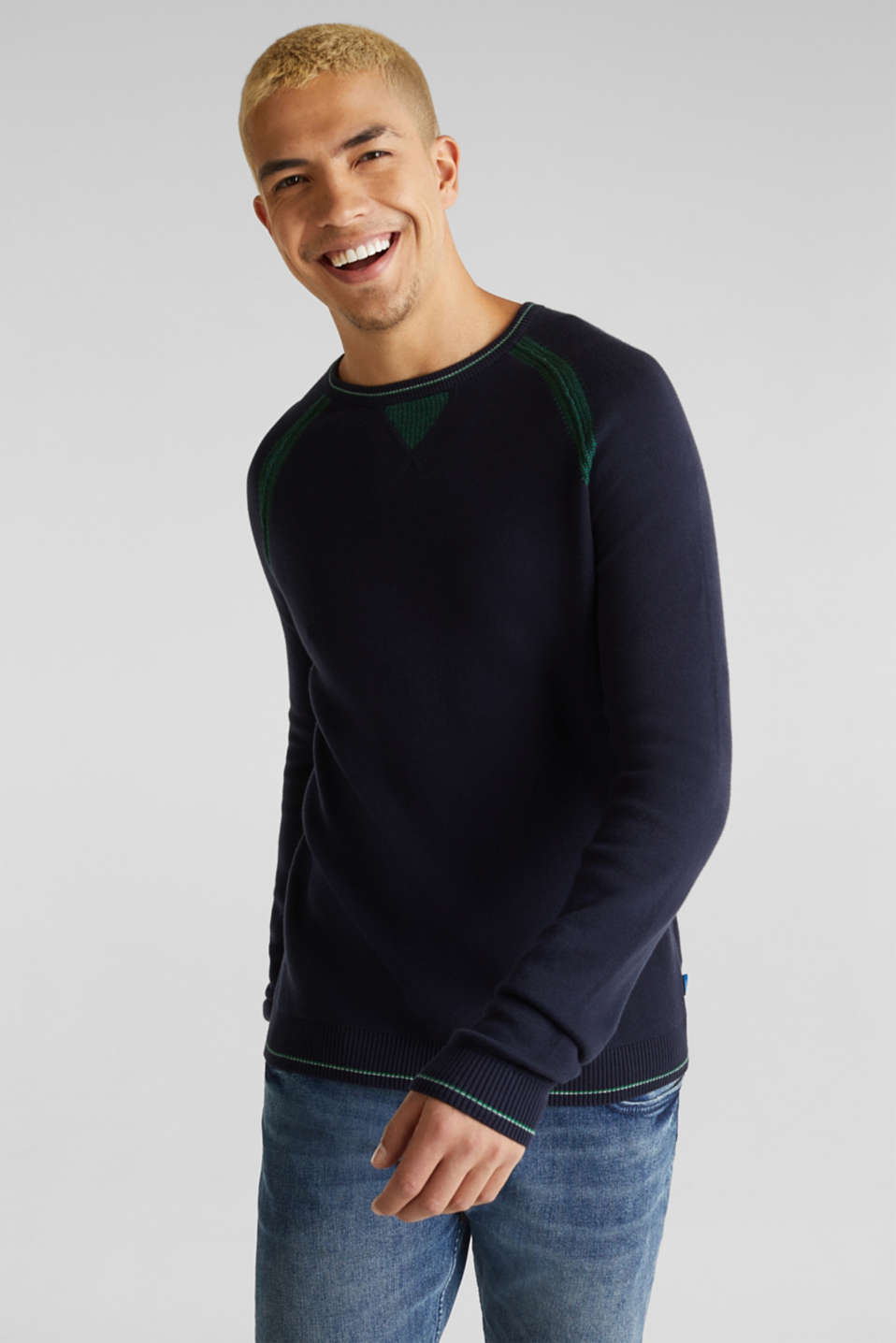 Sweaters, NAVY 2, detail image number 0