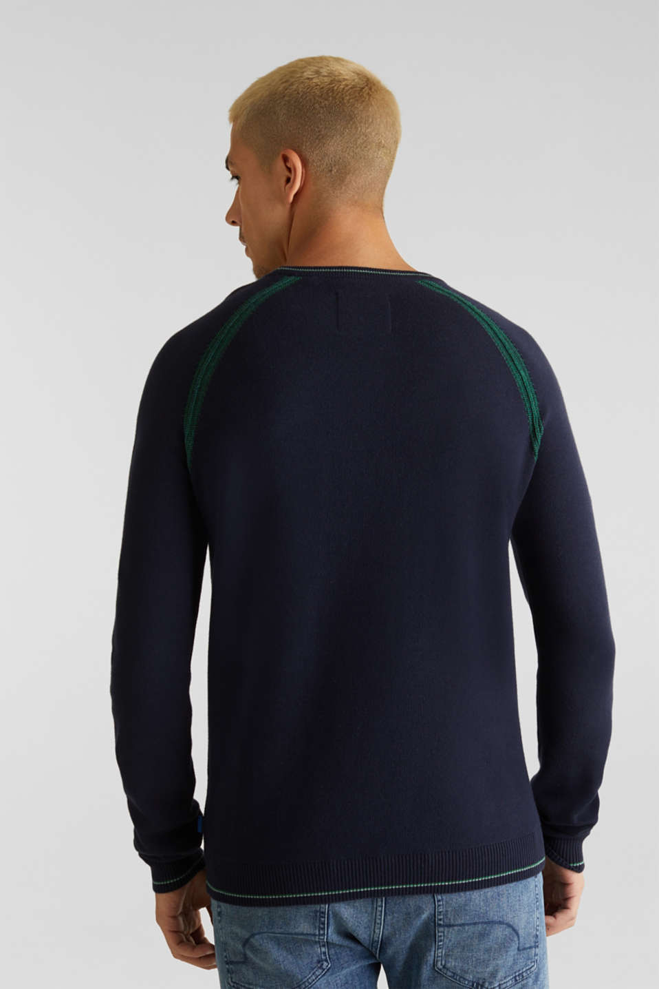 Sweaters, NAVY 2, detail image number 3