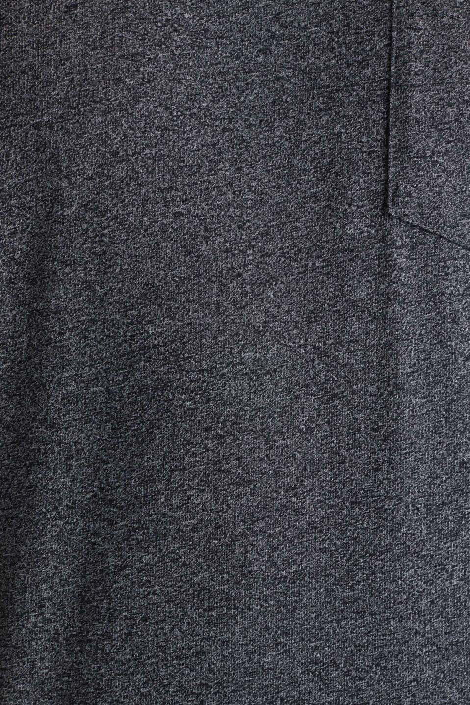 Jersey T-shirt in a casual look, ANTHRACITE 5, detail image number 4