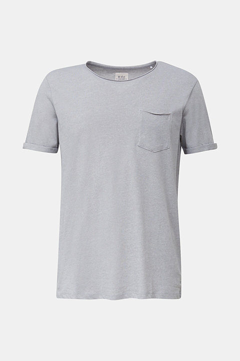 Jersey T-shirt in a casual look