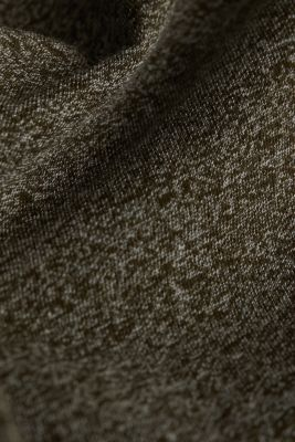 Jersey T-shirt in a casual look, OLIVE 5, detail