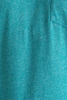 Jersey T-shirt in a casual look, AQUA GREEN 5, detail