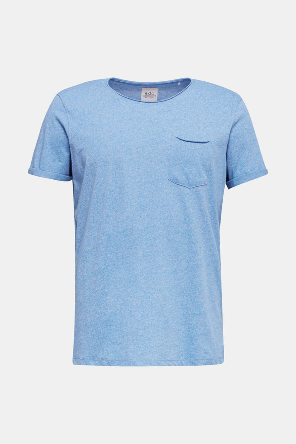 Jersey T-shirt in a casual look, BLUE 5, detail image number 6