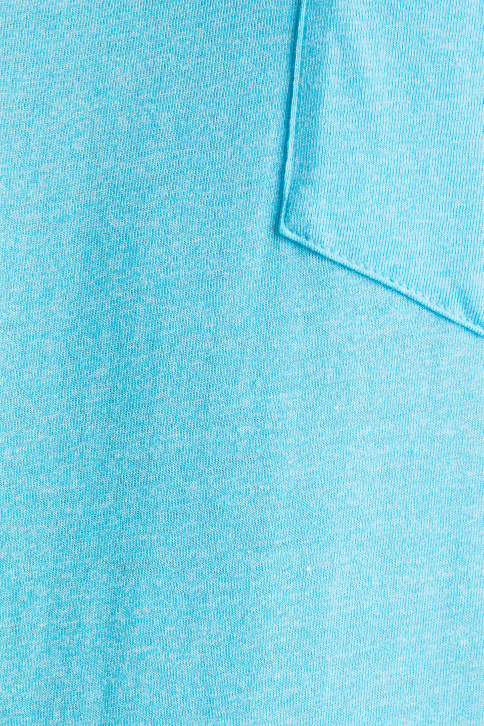 Jersey T-shirt in a casual look, LIGHT BLUE, detail image number 4
