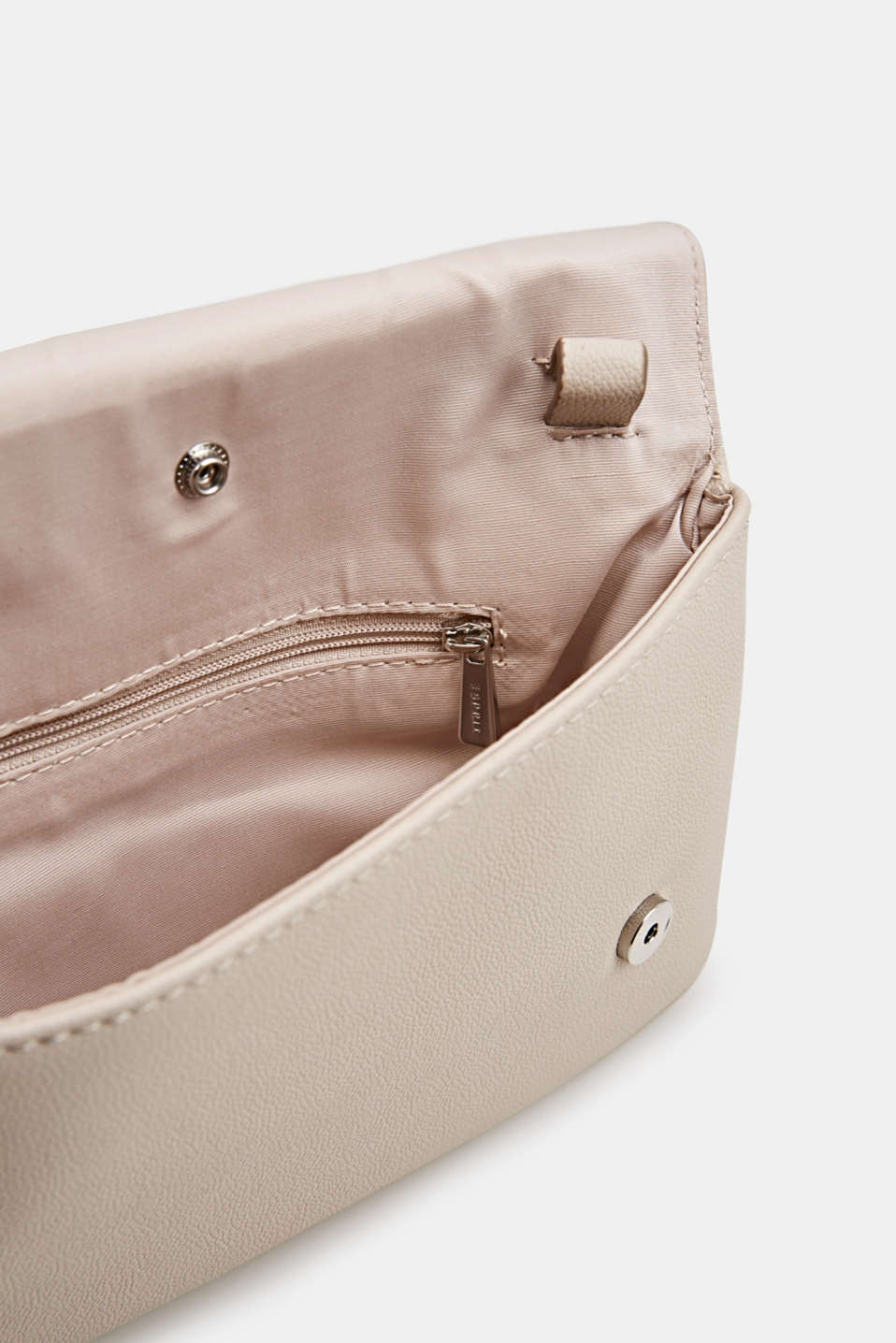 Clutch with detachable strap, ICE, detail image number 4