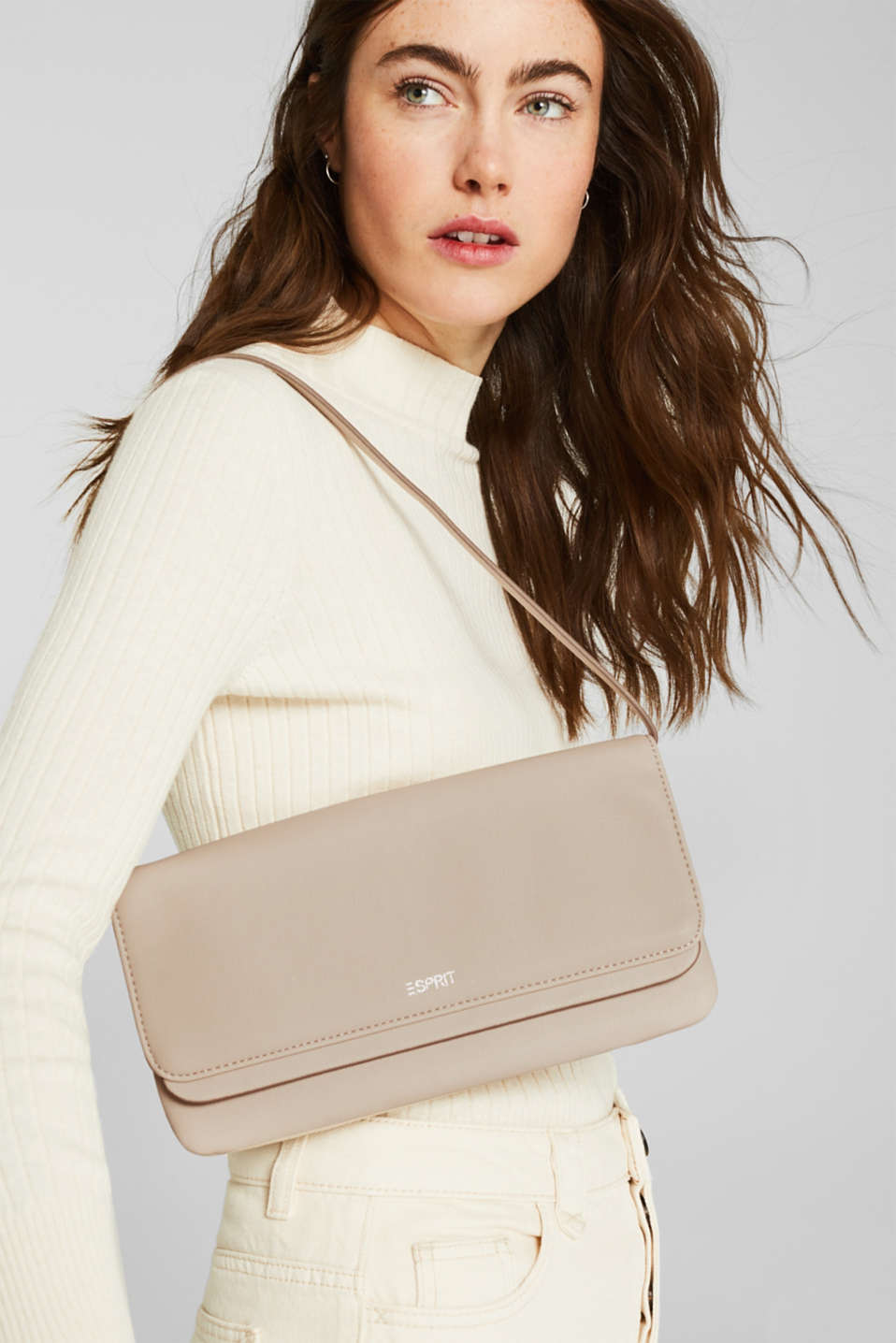 Clutch with detachable strap, ICE, detail image number 1