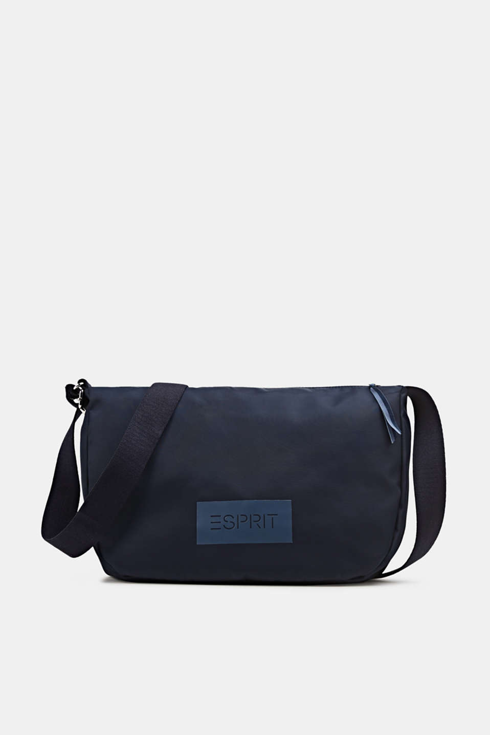 Esprit - Logo shoulder bag made of nylon