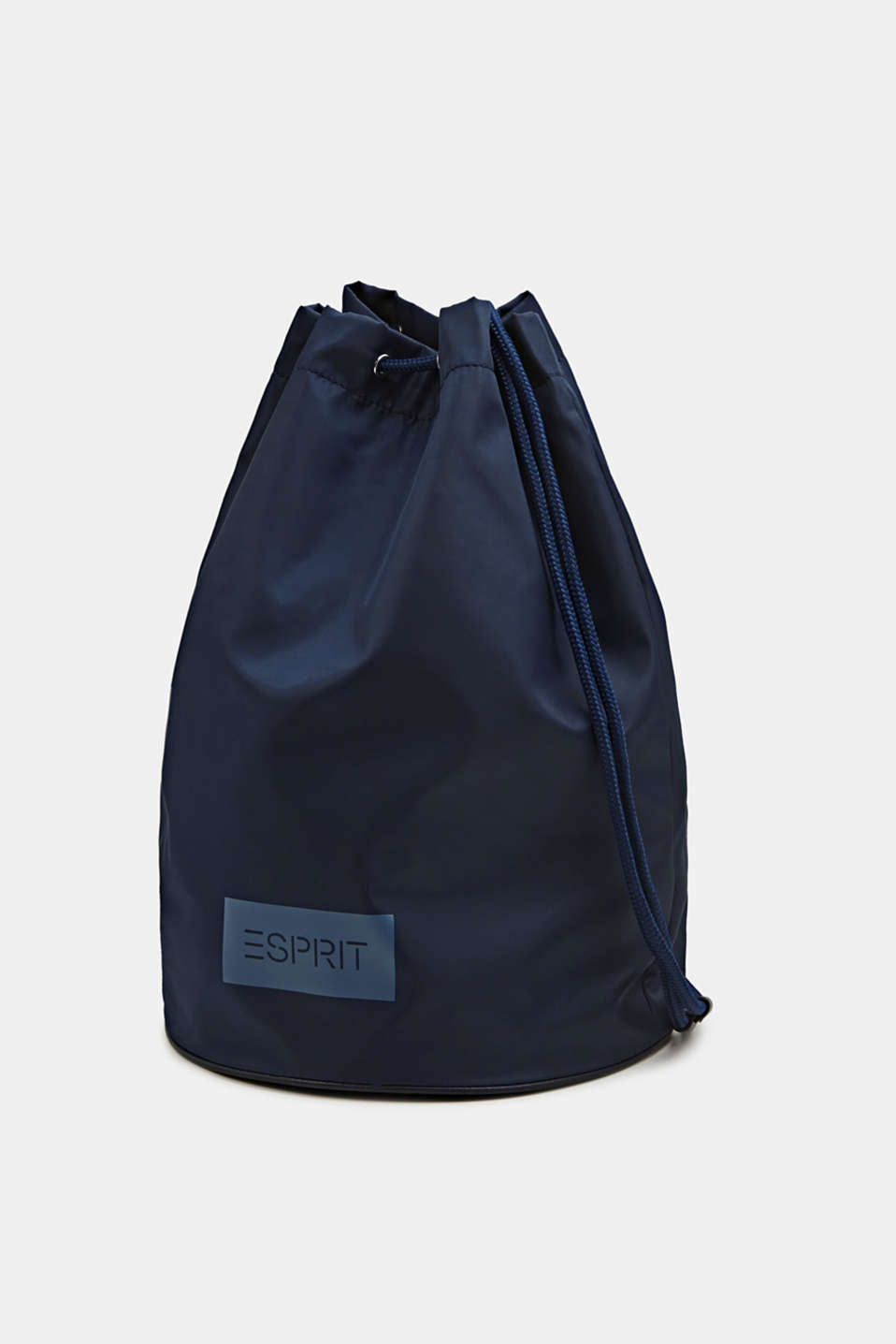Nylon pouch with monogram, NAVY, detail image number 1