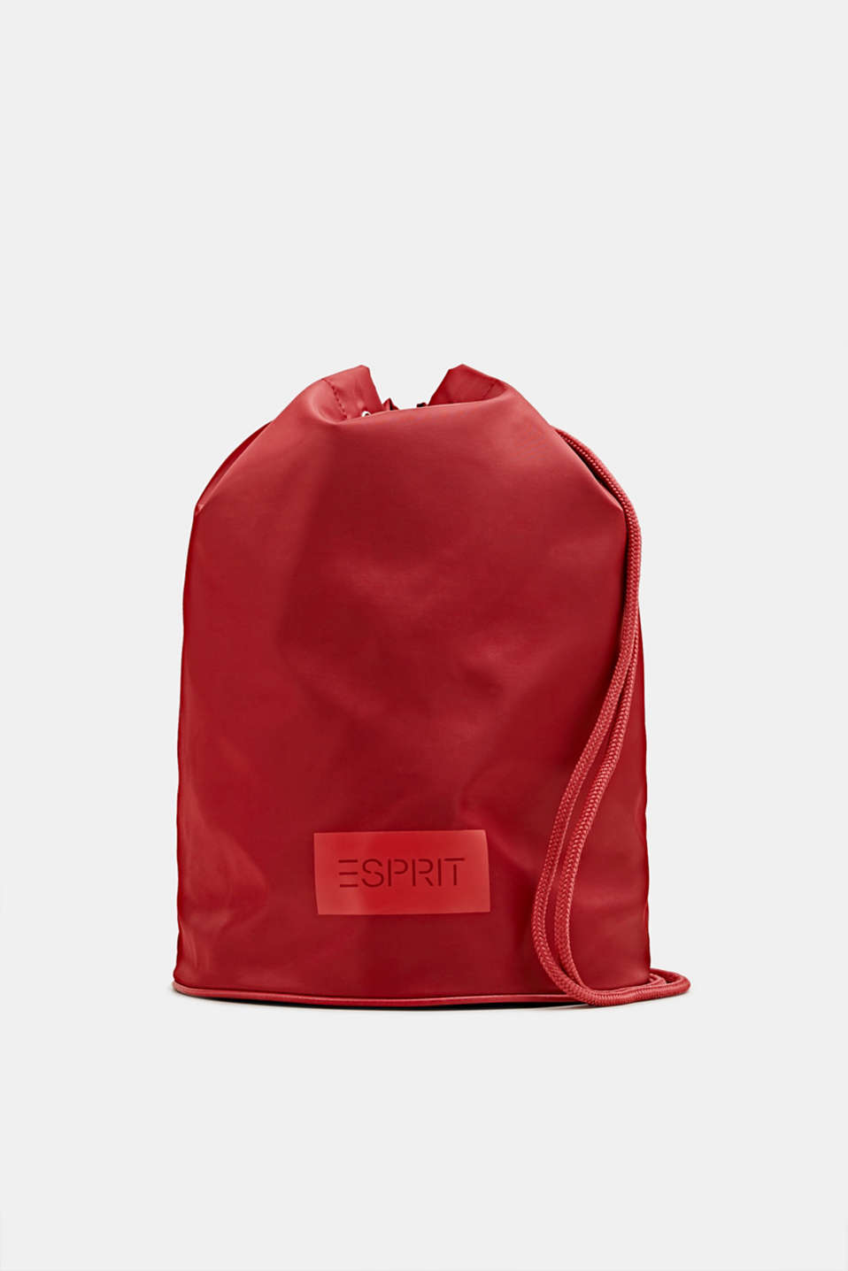 Nylon pouch with monogram, RED, detail image number 0