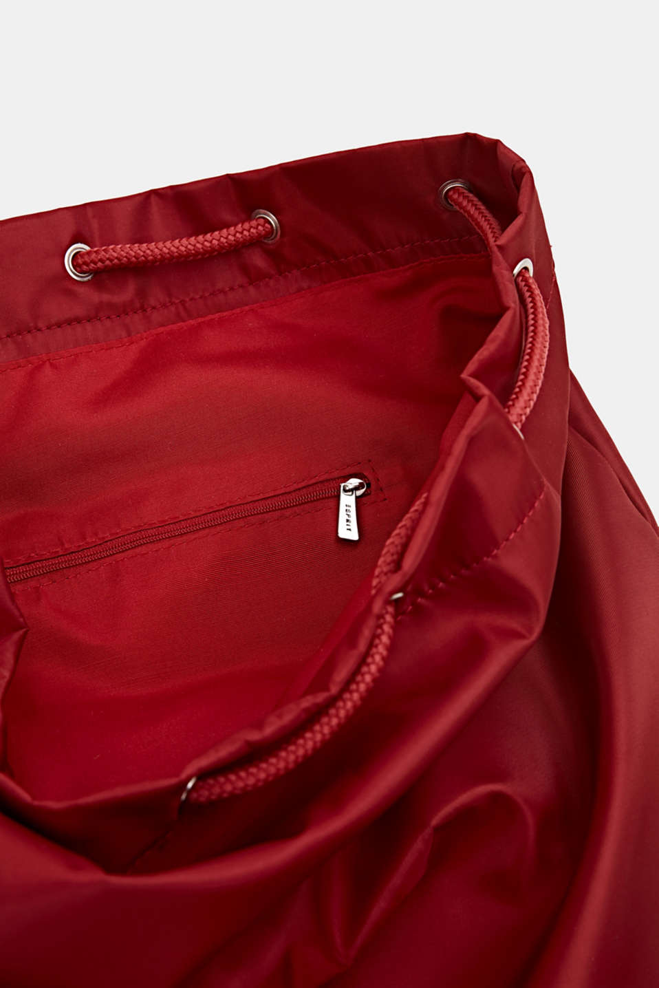 Nylon pouch with monogram, RED, detail image number 4