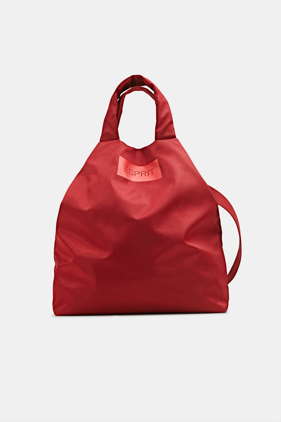 Esprit - Nylon bag with a logo, can be worn in two different ways