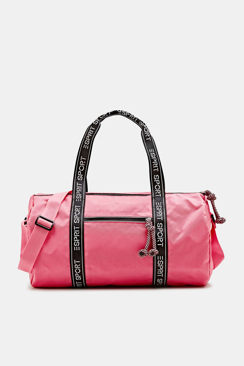 Esprit - Nylon weekender with a logo trim