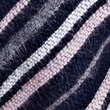 Scarf with stripes, NAVY, swatch
