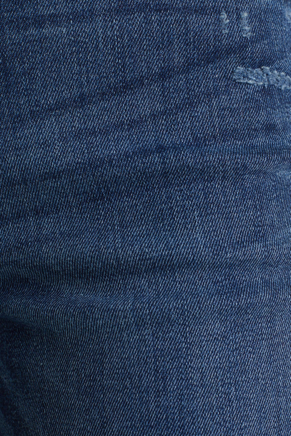 Stretch jeans in new fabric, BLUE DARK WASH, detail image number 4