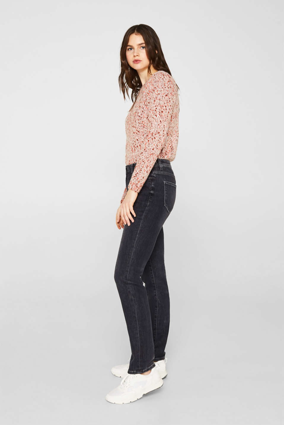 Stretch jeans in new fabric