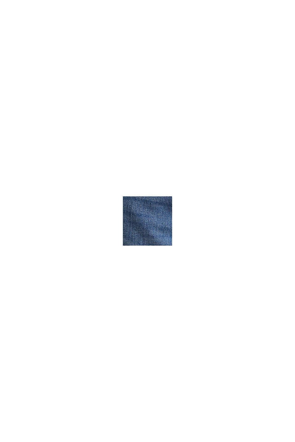 Vaqueros elásticos de corte novedoso, BLUE MEDIUM WASHED, swatch