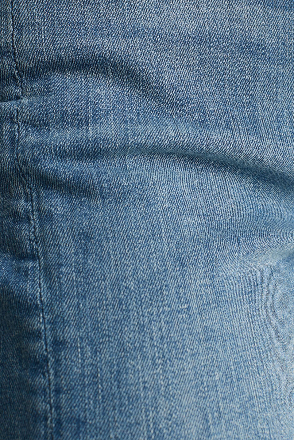Skinny jeans with decorative seams, BLUE MEDIUM WASH, detail image number 4