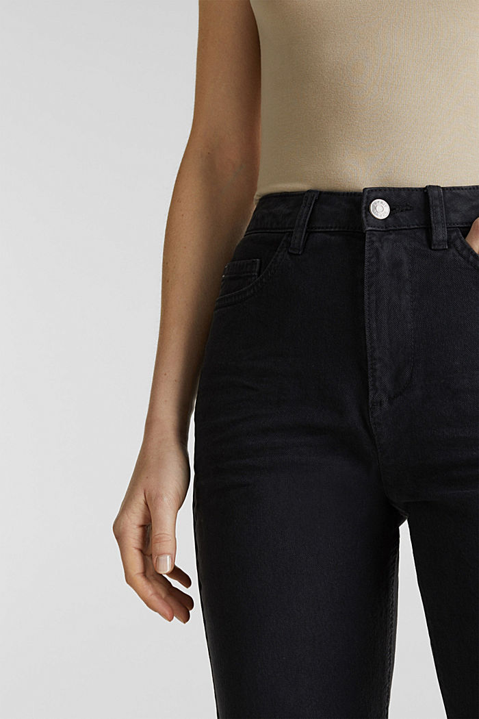 Stretch trousers with a fashionable fit, BLACK, detail image number 2