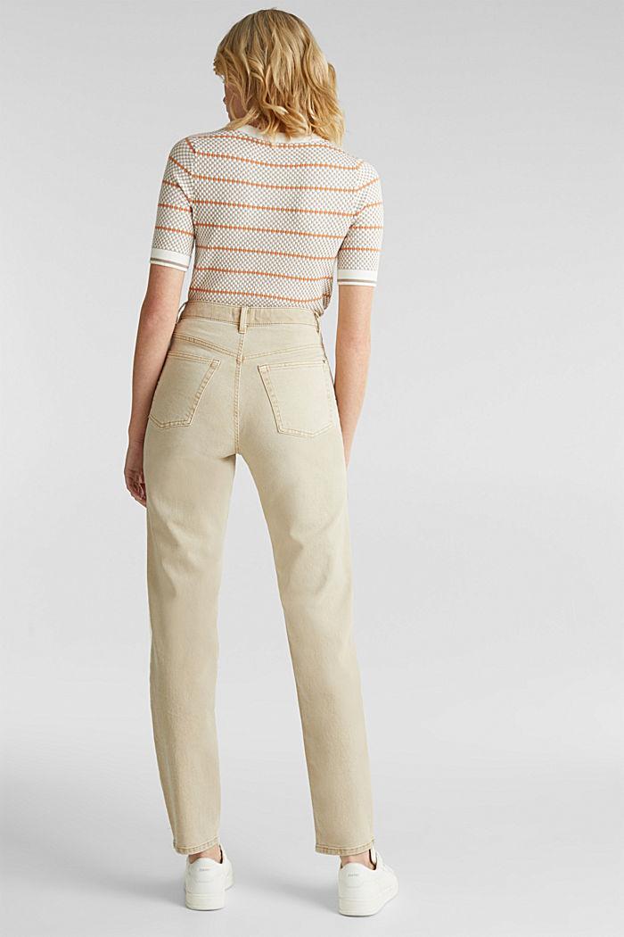 Stretch-Pants mit modischem Fit, BEIGE, detail image number 3