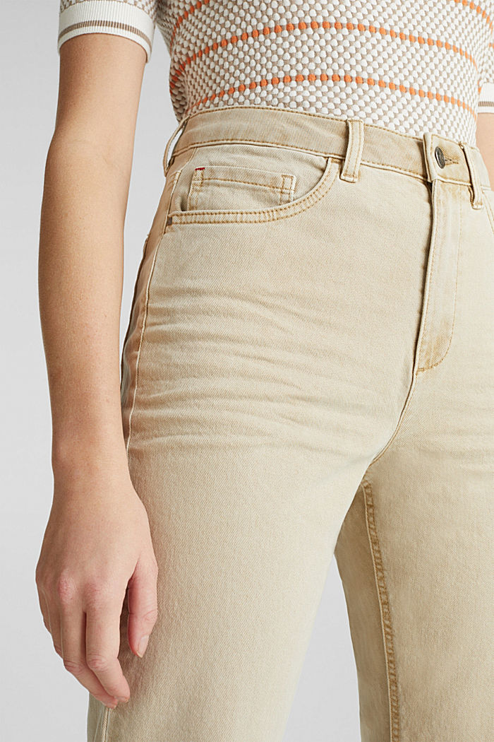 Stretch-Pants mit modischem Fit, BEIGE, detail image number 2