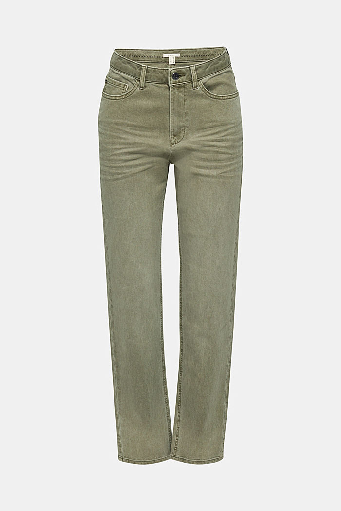 Stretch-Pants mit modischem Fit, KHAKI GREEN, detail image number 7