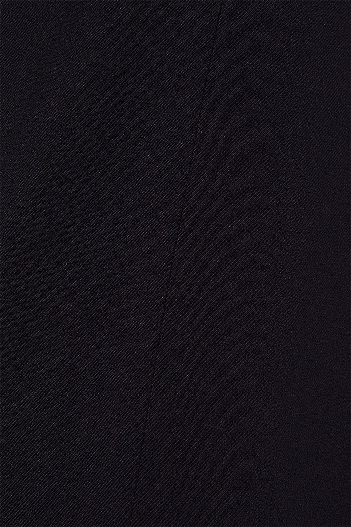 Flanell-Hose mit weitem Bein, NAVY, detail image number 4