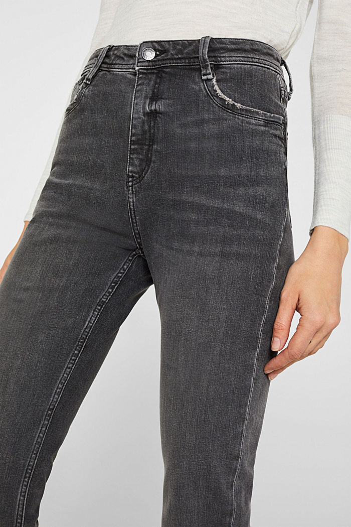 Stretch-Jeans mit neuem Fit, GREY MEDIUM WASHED, detail image number 2