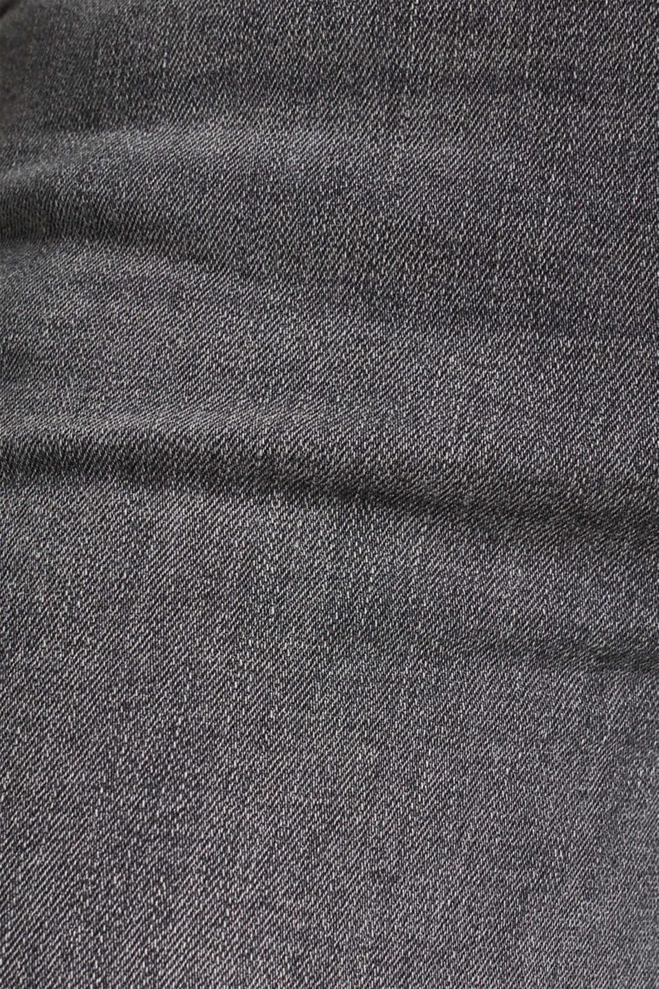 Pants denim, GREY MEDIUM WASH, detail image number 4