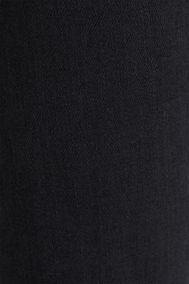 Bootcut jeans with a high waistband, BLACK RINSE, detail