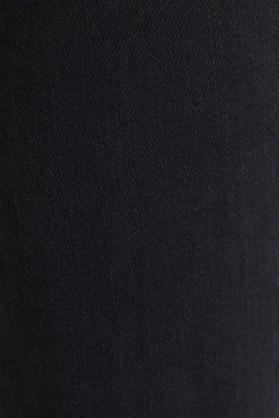 Bootcut jeans with a high waistband, BLACK RINSE, detail image number 4