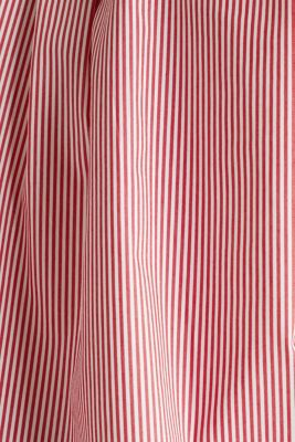 Stretch blouse with a pussycat bow, RED, detail