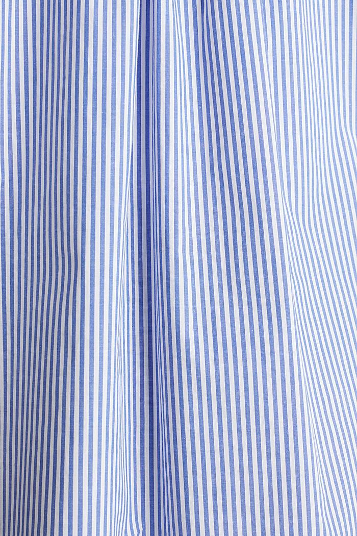 Oversized-Bluse mit breiten Turn-up-Manschetten, LIGHT BLUE, detail image number 4