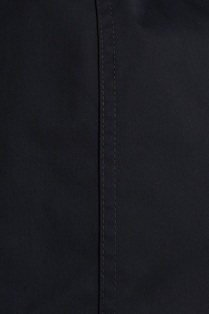 Trenchcoat mit variabler Kapuze, BLACK, detail image number 4