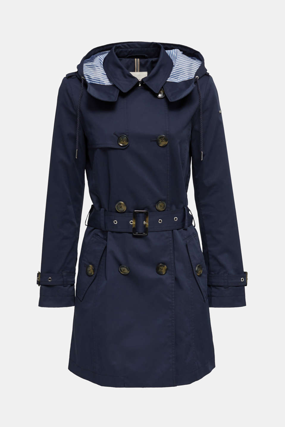 Coats woven, NAVY, detail image number 8