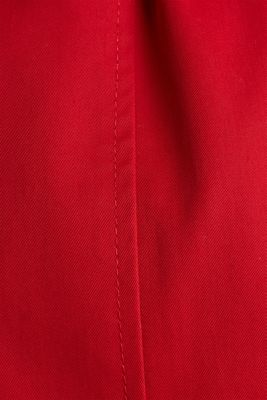 Trench coat with an adjustable hood, DARK RED, detail